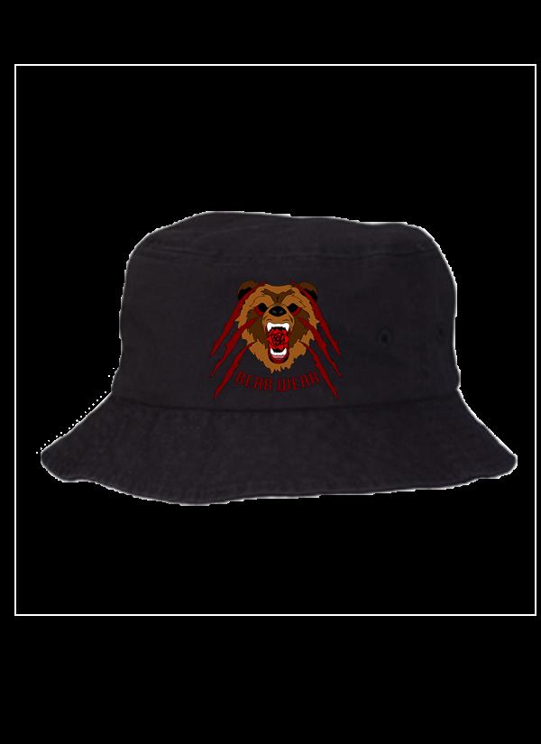 ROSE BEAR BUCKET HAT